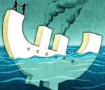 Η κρίση της Ευρωζώνης, γράφει ο Economist, μπορεί να πάρει τώρα πιο σοβαρές διαστάσεις, στο βαθμό που η Ισπανία αποτελεί πολύ μεγαλύτερο πρόβλημα από ό,τι η Ελλάδα και πιθανώς θα συμπαρασύρει την Ιταλία ακόμη και τη Γαλλία.