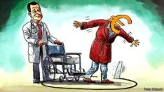 η κρίση της ευρωζώνης βαθαίνει» και συνδέουν το ευρωπαϊκό μέλλον της Ελλάδας με το αποτέλεσμα των εκλογών, επαναφέροντας το δίλημμα «λιτότητα ή δραχμή», ενώ οι συζητήσεις για έξοδο της Ελλάδας από την ευρωζώνη αναζωπυρώνονται προεκλογικά.